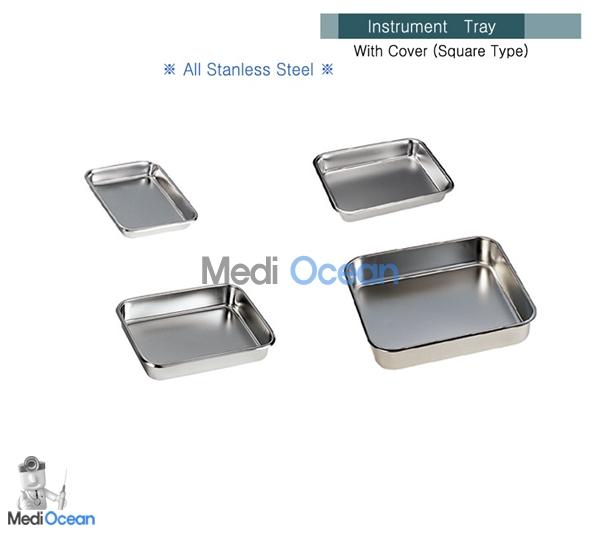 국산 개무밧드 (Instrument Tray) 8절 (215*175*25mm) 판매단위:1개, 1개 (POP 13460471)