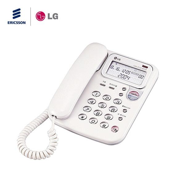 LG전자 LCD형 온후크 사무용전화기 집전화 유선전화기, GS-487CN