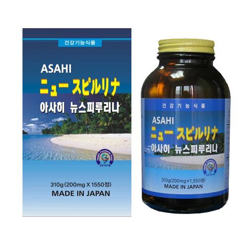 일본 아사히고도 아사히 뉴스피루리나 1550정 대용량, (선택1)아사히뉴스피루리나1병