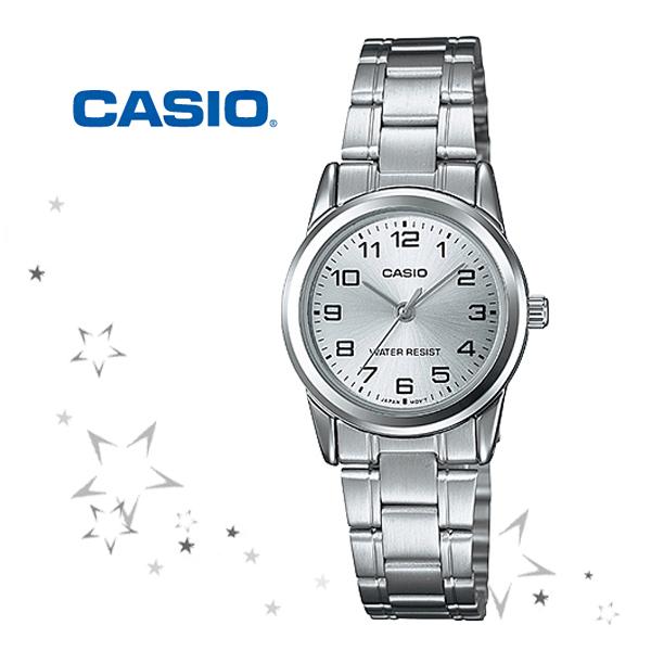 카시오 LTP-V001D-7B 카시오시계 CASIO 여성시계 아날로그 메탈시계