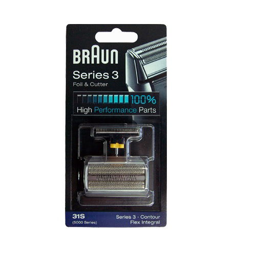 브라운 31S 전기면도기날+망 시리즈3 브라운면도기날망 Combi 5000