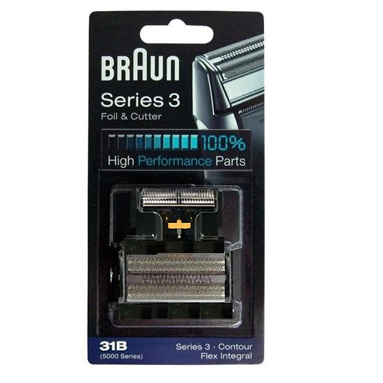브라운 31B 전기면도기날+망 시리즈3 브라운면도기날망
