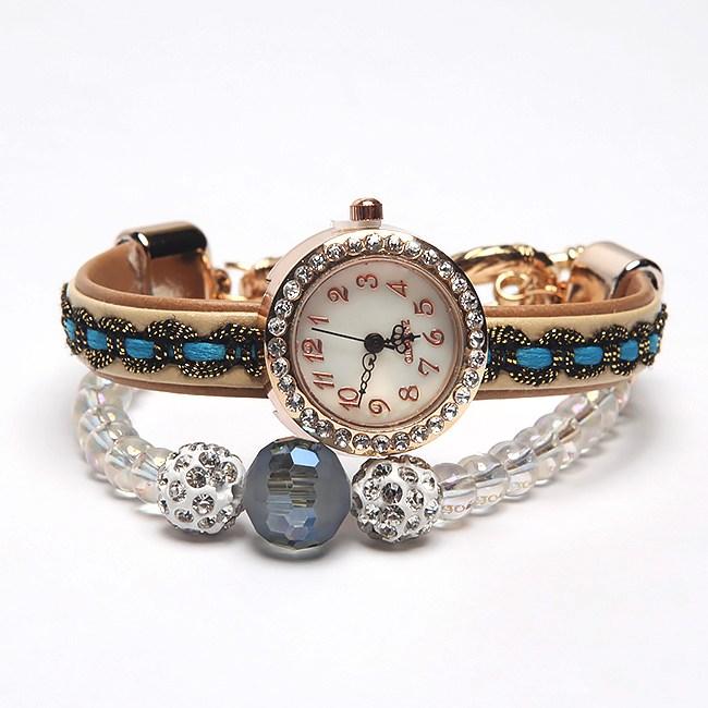 독특한 예쁜 시계팔찌
