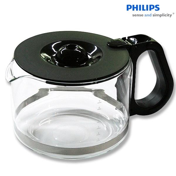 필립스 커피메이커 유리용기 HD7761 HD7461 유리잔, 1개