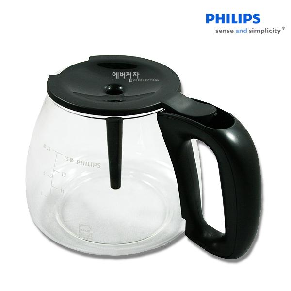 필립스 커피메이커 유리용기 HD7564 유리잔, 1개