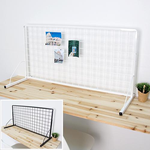 메쉬망+망받침대세트(탁상용), 메쉬망+망받침대세트 45x120cm:화이트