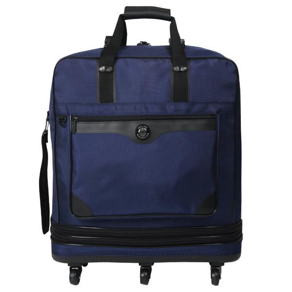 우주표가방 HB301 3단 고급형-매트곤색 이민가방