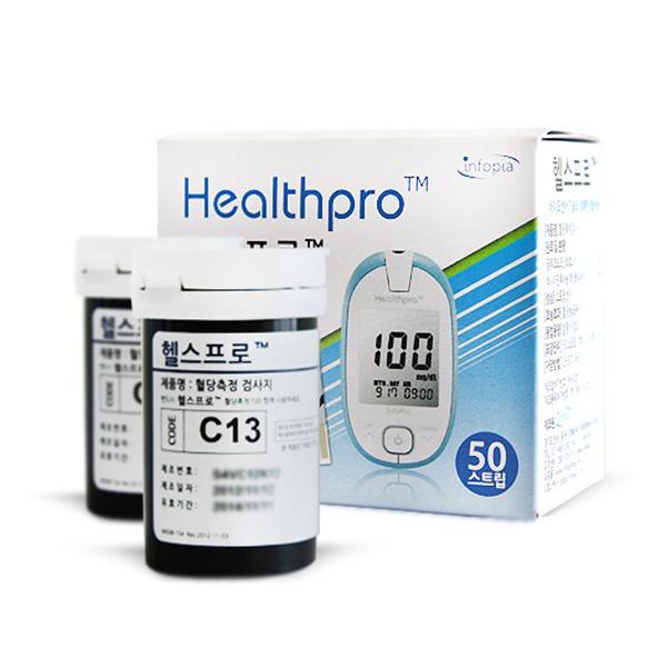 인포피아 헬스프로 혈당측정검사지, 1개, 50매