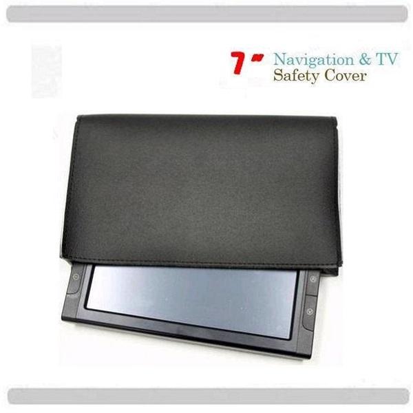 위싱캡시즌2 LB300 아이나비 내비 전용 7형 햇빛가리개및보호덮게, 내비보호덮게-검정색상(A타입)