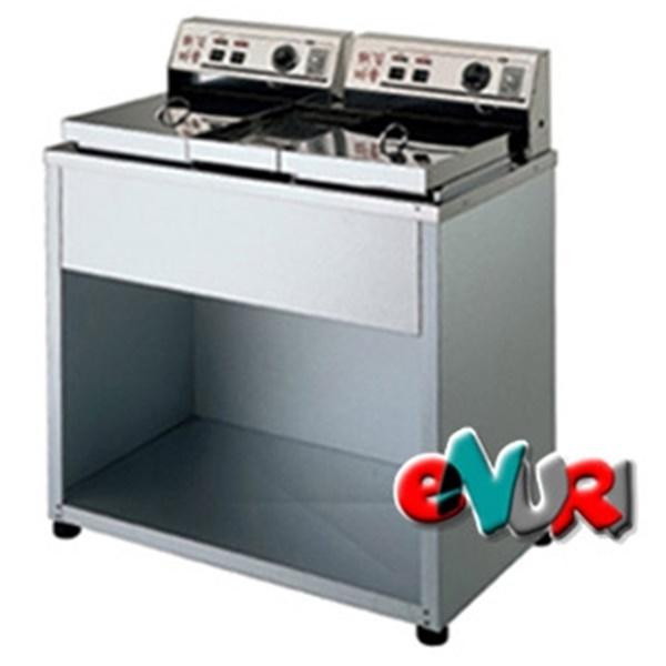 대신전기산업(주) 대신 전기튀김기 DS-200(도장2구B)업소용튀김기2구, DS-200  도장2구
