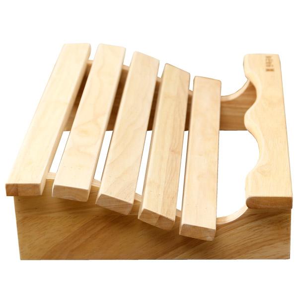 사각 발받침대 _ 발판 나무받침대 의자거치대, 01. 사각 발받침대 기본