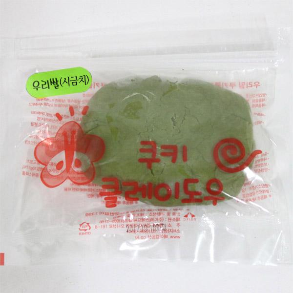 쿠키클레이 우리쌀 시금치 - 아이스박스 별도구매제품, 1개, 1개