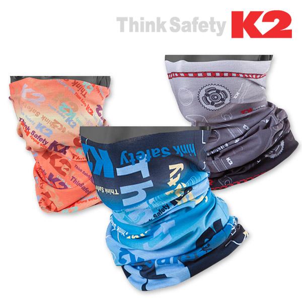 K2 쿨룩 케이투 정품 멀티 스카프 자외선차단, 그레이