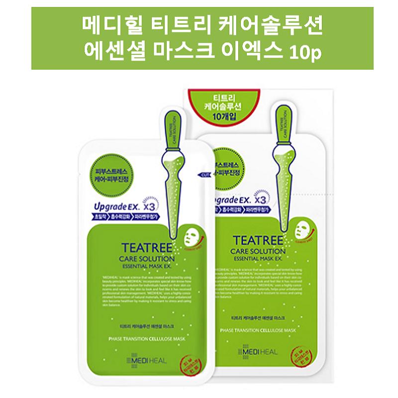 메디힐 티트리 케어솔루션 에센셜 마스크 이엑스, 1매입, 30개