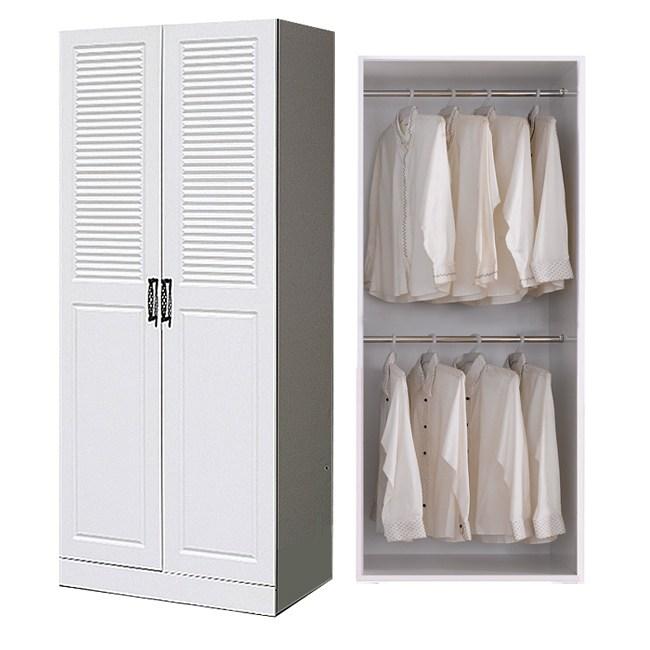 웰튼 갤러리800도어 거울옷장, 하프-도어옷장