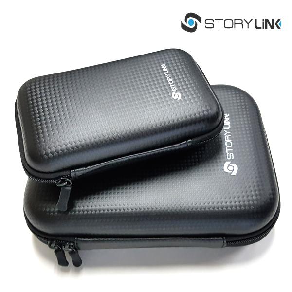 스토리링크 외장SSD 외장하드 1TB 2TB 하드디스크 외장하드케이스, 파우치(소)+파우치(대)