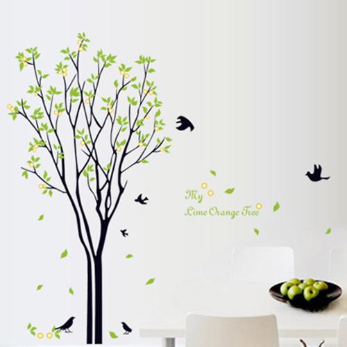 젤리펀트 우리집꾸미기 포인트스티커, 라임오렌지나무