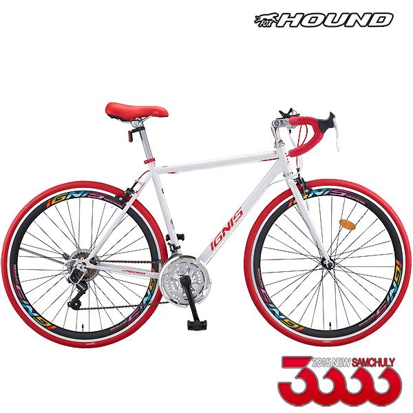삼천리 이그니스21R plus new블랙림 로드 자전거, 화이트440