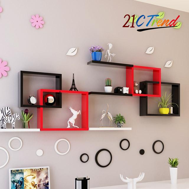 21세기트랜드 디자인 벽선반, 듀얼