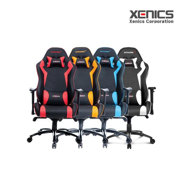 제닉스 AKRACING Gaming Chair, 1개, AKRACING TYPE-1 블루