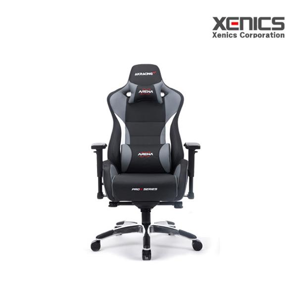 제닉스 AKRACING Gaming Chair, 1개, AKRACING TYPE-4 그레이
