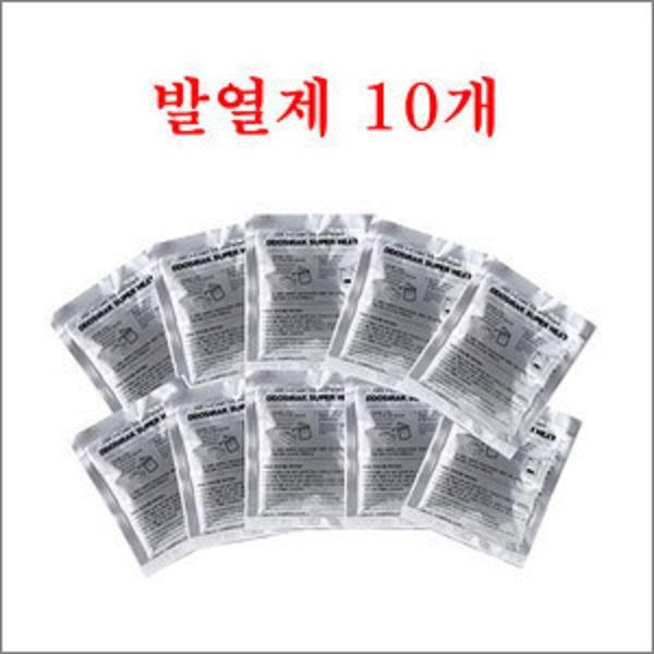 복플러스 식품가열발열제, 60g, 10개