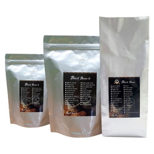 블랙빈스 헤이즐넛향 커피, 1.분쇄하지않음(원두콩상태), 1kg
