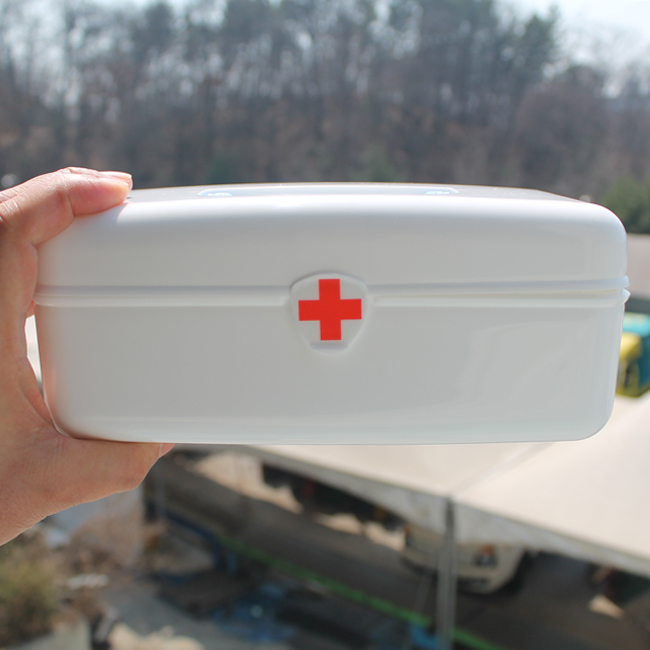 스피드 미니구급함(약품포함) 구급상자 약상자 약통, 1개 (POP 18841243)