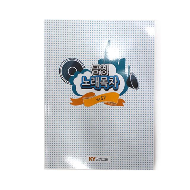 금영 KHK-200 KHK-300 가정용노래방 신곡팩, 가정용목록책