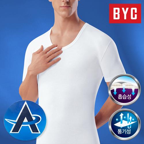 BYC 에어로쉬 기능성 반팔런닝 5매