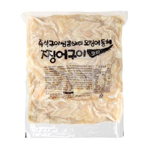 [온누리식품] 땅콩 버터 오징어 찡어구이 실속형 대용량 모미 800g, 1개