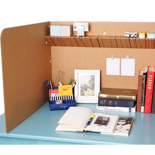 페이퍼팝 독서실칸막이 독서실책상, 상단 선반형