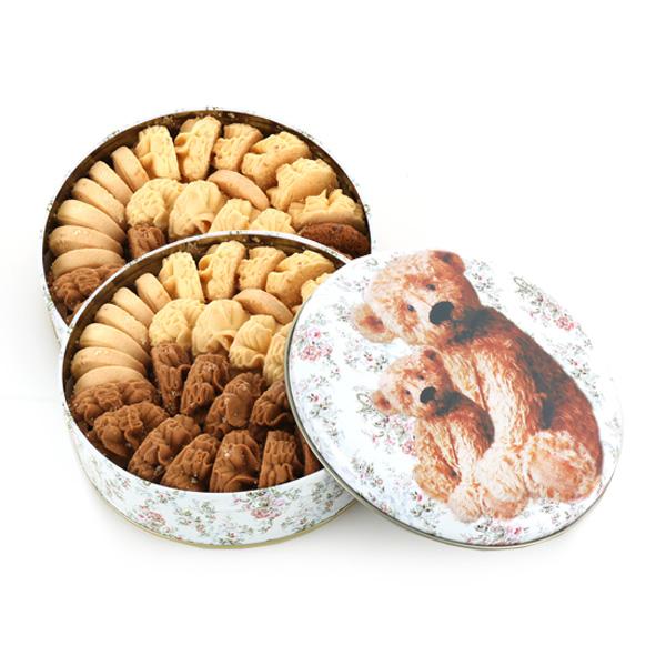 제니베이커리 4믹스 쿠키, 320g, 2개