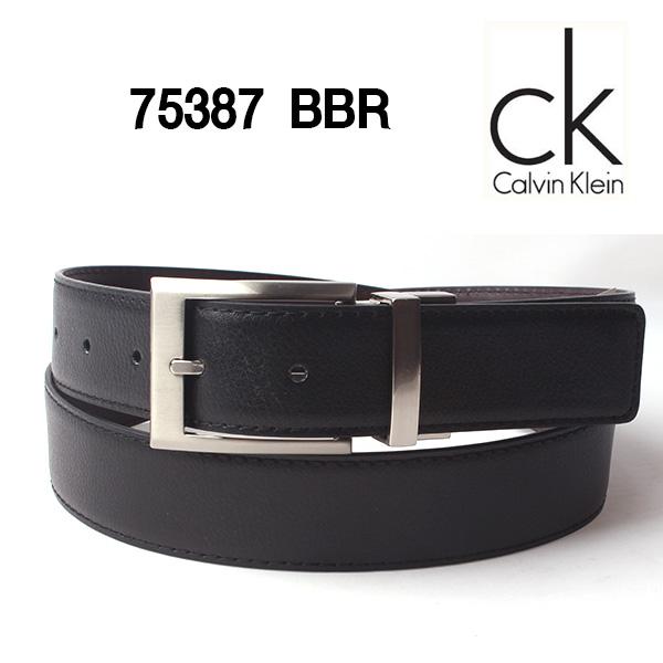 직수입 캘빈클라인 양면벨트 75387 BBR(블랙/브라운)