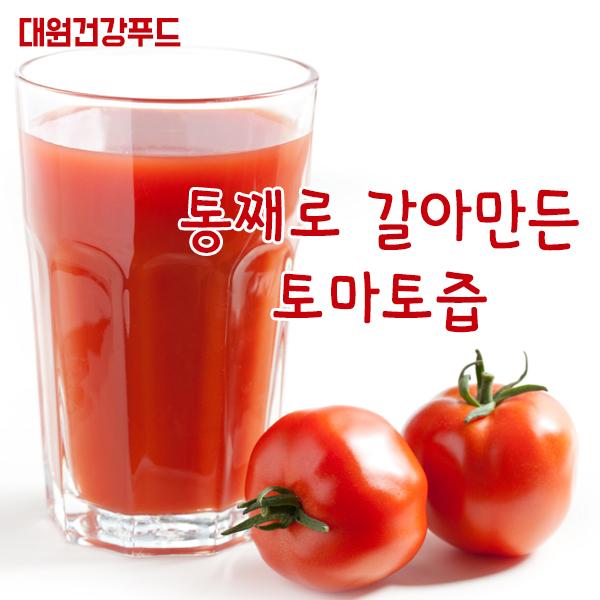 대원건강푸드 저온진공추출공법 토마토 통째로 100% 토마토즙, 100ml, 50포