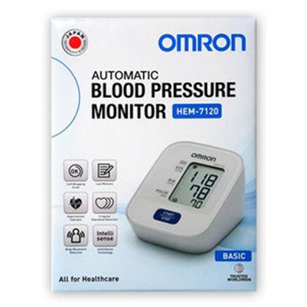 오므론 자동 전자혈압계 HEM-7120+(AA건저지 4개포함) 팔뚝형, HEM-7120, 1개