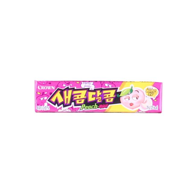 새콤달콤 복숭아 29g, 1개