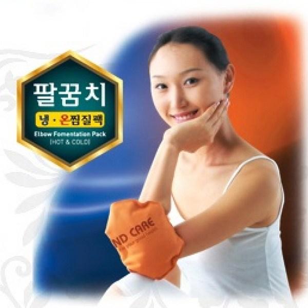 한마음케어 황토 냉.온 찜질팩 팔꿈치전용 OM006(20*29cm), 1개