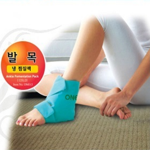 한마음케어 발목 냉 찜질팩 OM015(48*20cm), 5개