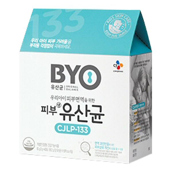 CJ제일제당 BYO 피부 유산균 CJLP-133, 2g, 40개