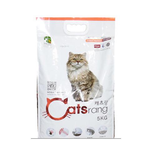 캐츠랑 캣츠랑 전연령 올라이프 5kg 고양이 사료, 2개