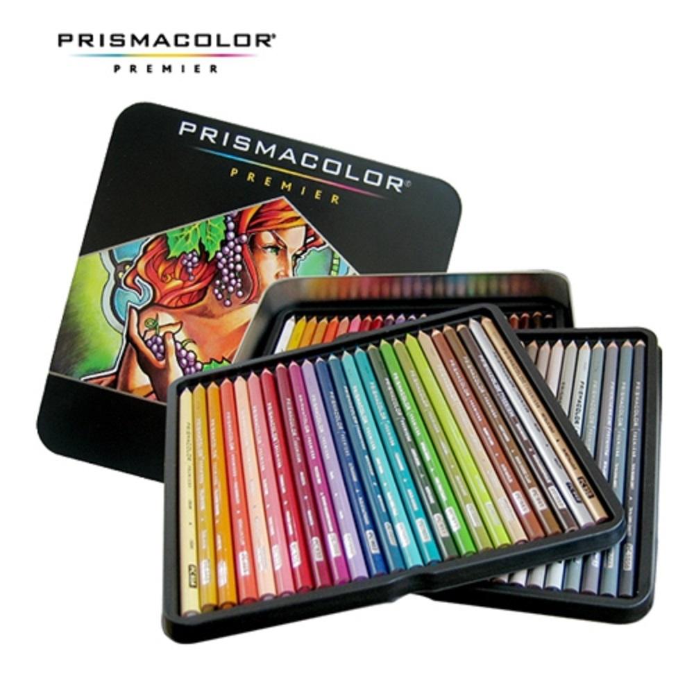 프리즈마 유성 색연필 24색 48색 72색 132색