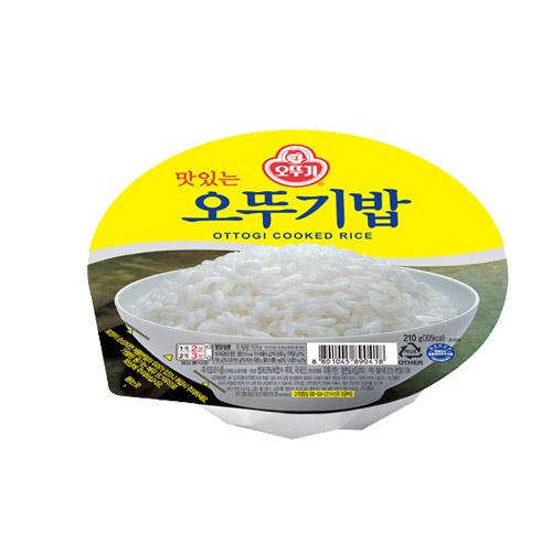 오뚜기 맛있는 오뚜기밥, 210g, 48개
