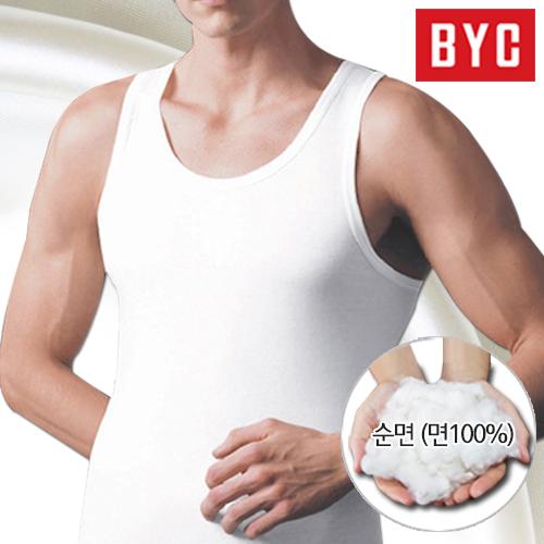 BYC 남성 민소매런닝 5매
