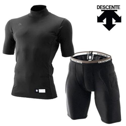 데상트 DESCENT 스킨즈 테크핏 티셔츠 팬츠