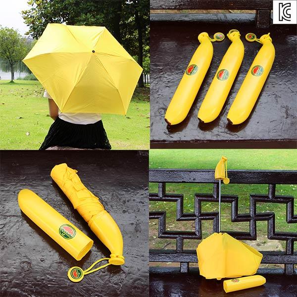 바나나 3단우산/바나나우산/과일우산