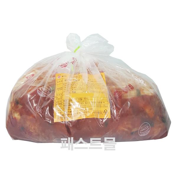 종가집 우리땅 겉절이김치 5kg, 1개