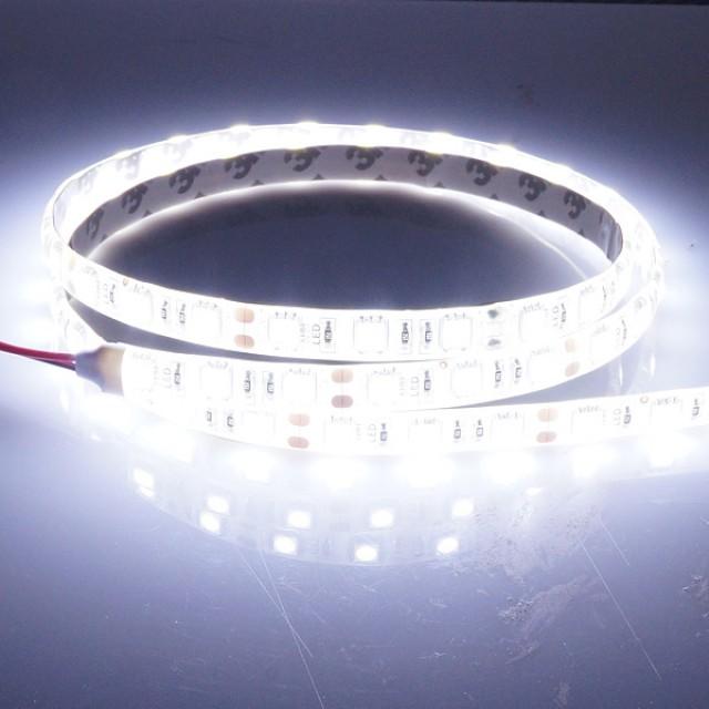밝기향상 신제품ㅁ12V-24V 고급형 5050 3칩 LED바 화이트LED - (10cm당 가격)