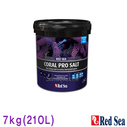 샘아쿠아 레드씨 red sea 코랄프로 해수염 7kg (210L), 1개
