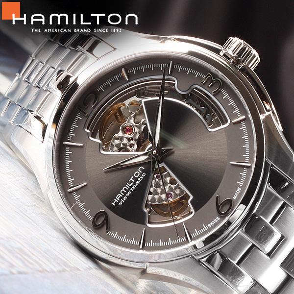 [HAMILTON] 해밀턴시계 H32565185 재즈마스터 오픈하트 오토매틱